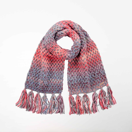 NICOLE SCARF CORAL ONE SIZE NA, UNICA