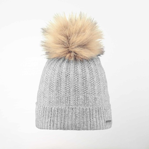 MARIGOLD BEANIE HEATHER GREY ONE, UNICA