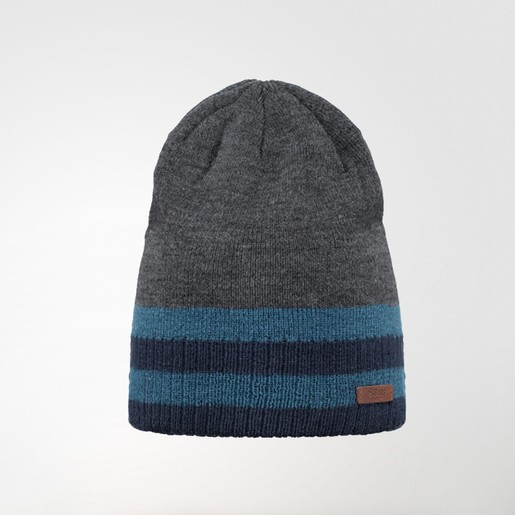 STRUAN BEANIE DARK HEATHER ONE SI, UNICA