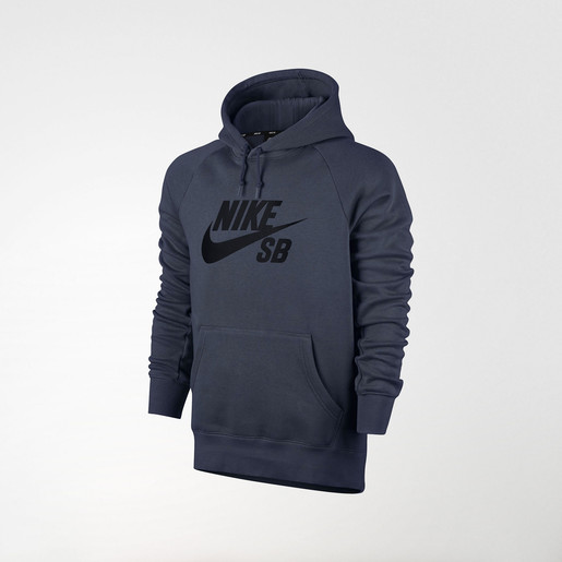 SB ICON PO HOODIE THUNDER BLUE/BLACK, XS