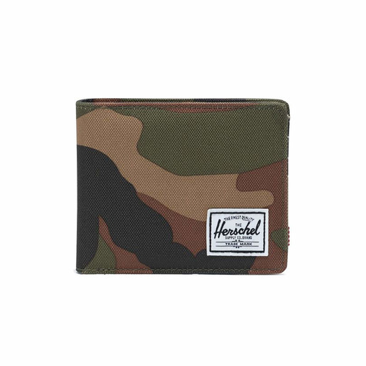 Roy + Coin RFID Woodland Camo, UNICA