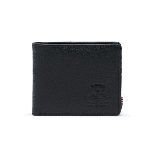 Hank + Coin Leather RFID Black Pe, UNICA