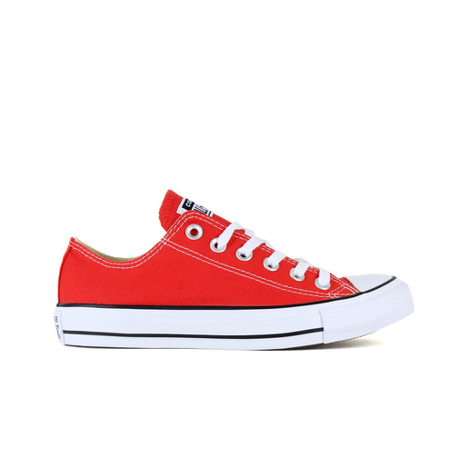 CHUCK TAYLOR ALL STAR - OX - RED RO, 6