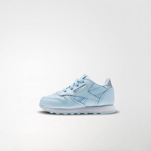 CLASSIC LEATHER PASTEL FRESH BLUE/WHI, 4