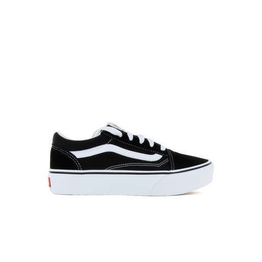 UY Old Skool Platform Black/True Whi, 11