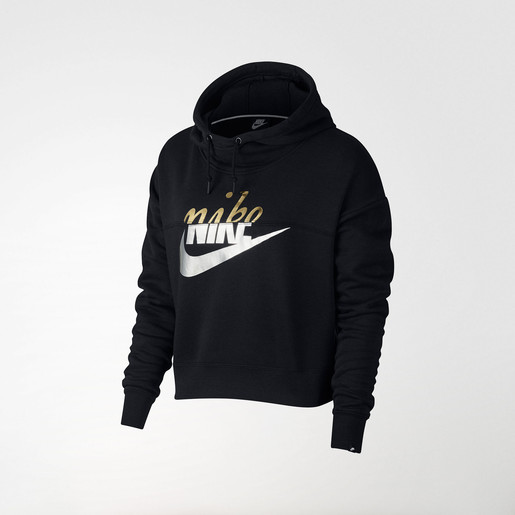 W NSW RALLY HOODIE METALLIC NE DO, S
